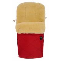 Термочувал с овча вълна NATURA Kaiser - Red