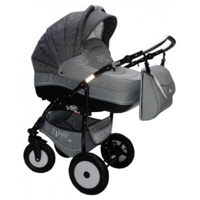 Комбинирана количка Zippy Lux - тъмно и светло сиво SOJ016ZIP05