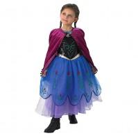 Карнавален костюм Анна Premium Frozen Rubies