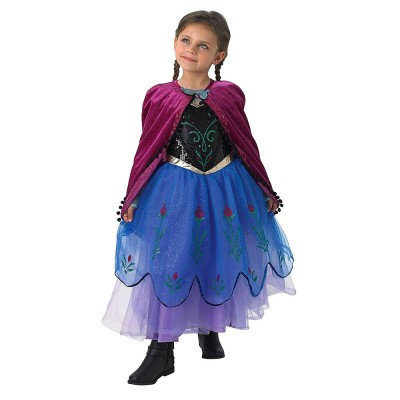 Карнавален костюм Анна Premium Frozen Rubies 884788