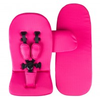 Starter pack Mima (матраци за седалка и кош) - hot magenta