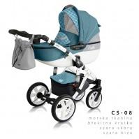 Комбинирана количка Milu Kids Castello 2в1 - цвят 08