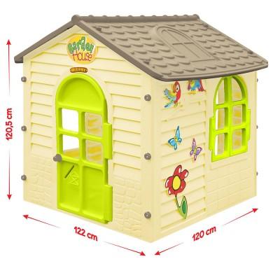 Пластмасова детска къща Mochtoys 11558