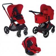 Бебешка количка Jane Muum Koos 3 в 1 i-Size - S53 Red