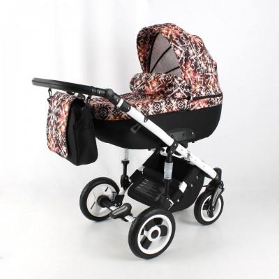 Бебешка количка 3в1 Zarra Ultimo 3в1 2018 - цвят 07 30149
