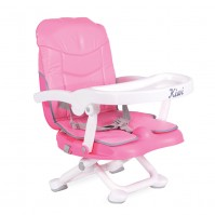 Повдигащ стол за хранене Kiwi Cangaroo - розово