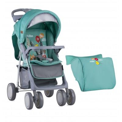 Детска количка с покривало Foxy Lorelli 2018 - зелена 10020521808A