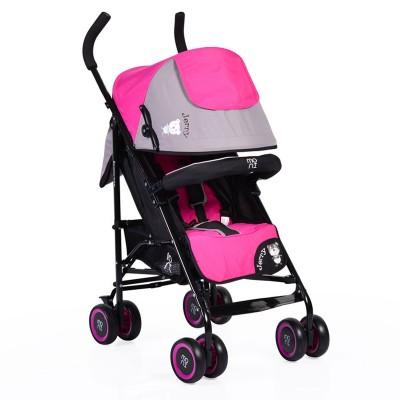Лятна детска количка Jerry Moni - розова