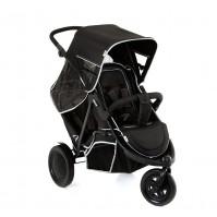 Бебешка количка за две деца HAUCK Freerider Black