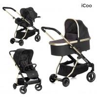 Комбинирана бебешка количка HAUCK iCoo Acrobat XL Plus 3в1