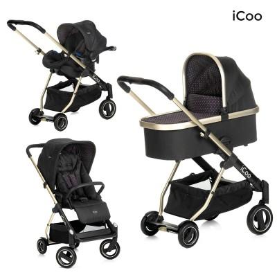 Комбинирана бебешка количка HAUCK iCoo Acrobat XL Plus 3в1 151532