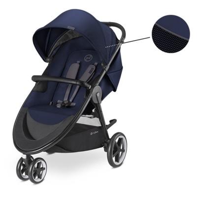 Бебешка количка Cybex Agis M-Air 3 2018 - Denim blue 518000669
