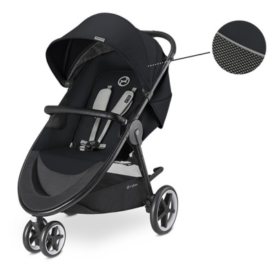 Бебешка количка Cybex Agis M-Air 3 2018 - Lavastone black 518000665