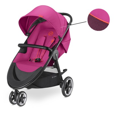 Бебешка количка Cybex Agis M-Air 3 2018 - Passion pink 518000671