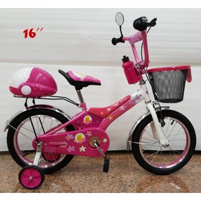 44348ac1f03 Детско колело Barbie 16 инча - розово на топ цена - Detski-Magazin.com