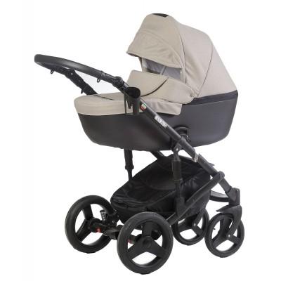 Бебешка количка Naomi 2018 Dizain Baby 2в1 2018 - качучино