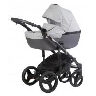 Бебешка количка Naomi 2018 Dizain Baby 3в1 2018 - сива
