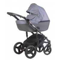 Бебешка количка Naomi 2018 Dizain Baby 3в1 2018 - индиго