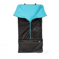 Чувалче за количка и стол за кола серия Avinto цвят син Baby Matex 0302