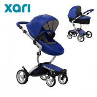 Бебешка количка Mima XARI 2в1 2018 - Royal Blue