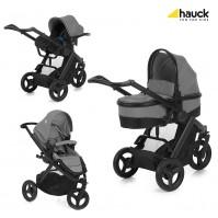 Бебешка количка Hauck Maxan 3 Plus Trio Set - Melange Stone