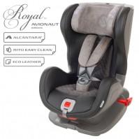 Стол за кола Avionaut Glider Royal L.01, IsoFix, 9-25 кг, Черно