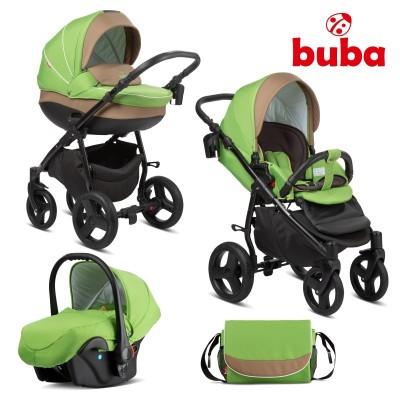 Бебешка количка 3в1 Buba Bella 757 - Green 757