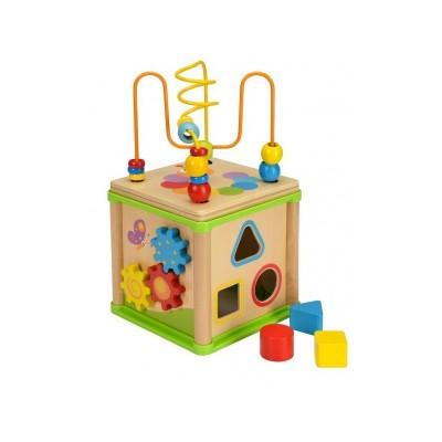 Детски образователен куб Beluga 50113