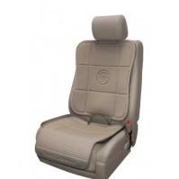 Предпазна подложка за автомобилна седалка - 2 части Prince Lionheart- бежова