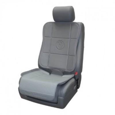 Предпазна подложка за автомобилна седалка - 2 части Prince Lionheart - сива pl_0299