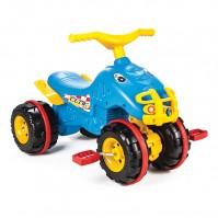 ATV с педали Pilsan - синьо