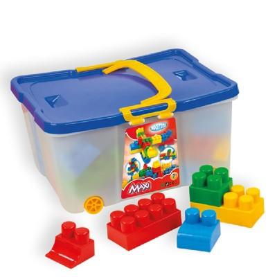 Конструктор Maxi в кутия 60 елемента Mochtoys 10059