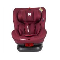 Стол за кола TWISTER ISOFIX Kikka Boo 0-25 кг. - RED