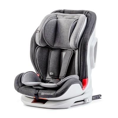 Столче за кола KinderKraft Oneto3 9-36кг - Сиво с черно KKFONE3BLGR000