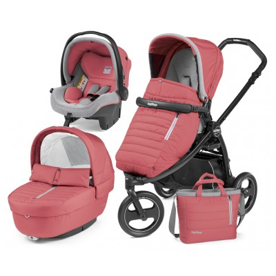 Бебешка количка BOOK SCOUT ELITE MODULAR OFF-ROAD 3в1 Peg Perego - BREEZE CORAL