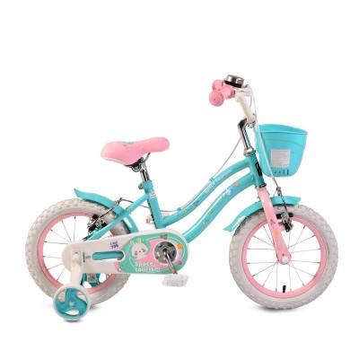 """Детски велосипед 1483 Moni 14"""" - розово и синьо"""