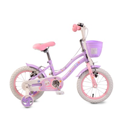"""Детски велосипед 1483 Moni 14"""" - розово и лилаво"""