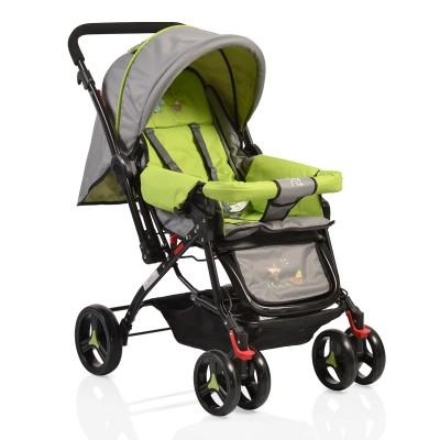 Комбинирана детска количка Mina - зелена