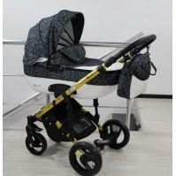 Комбинирана бебешка количка Adbor 3в1 Zarra Gold - цвят 28