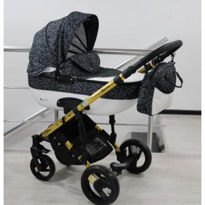 Комбинирана бебешка количка Adbor 3в1 Zarra Gold - цвят 28 30157
