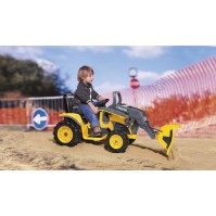 Акумулаторен багер Peg-Perego JOHN DEERE CONSTRUCTION LOADER 12V