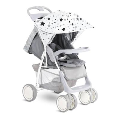 Сенник за детска количка бяло сиви звезди 20800931801