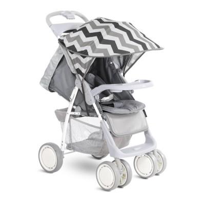 Сенник за детска количка сиви линии 20800931708