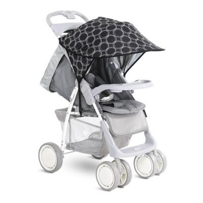 Сенник за детска количка черно с кръгове 20800930003