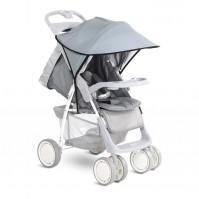 Сенник за детска количка сиво