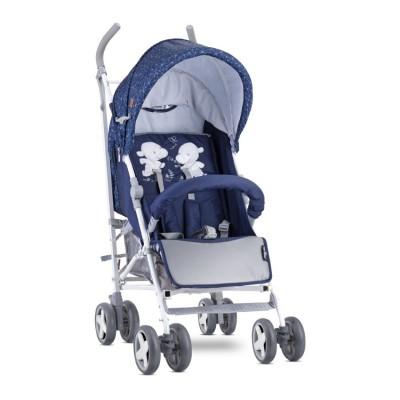Бебешка количка ida dark blue happy hippo 10021301956