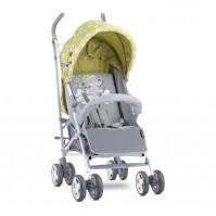 Бебешка количка ida green&grey elephant