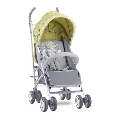 Бебешка количка ida green&grey elephant 10021301937
