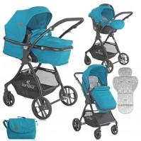 Бебешка количка starlight set dark blue