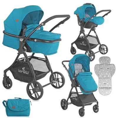 Бебешка количка starlight set dark blue 10021251917